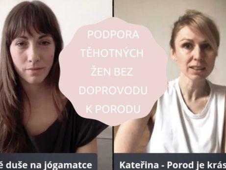 Webinář pro podporu těhotných žen bez doprovodu k porodu s Hypnoporodem a Gravidjógou